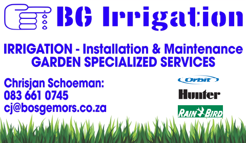 BG irrigationa